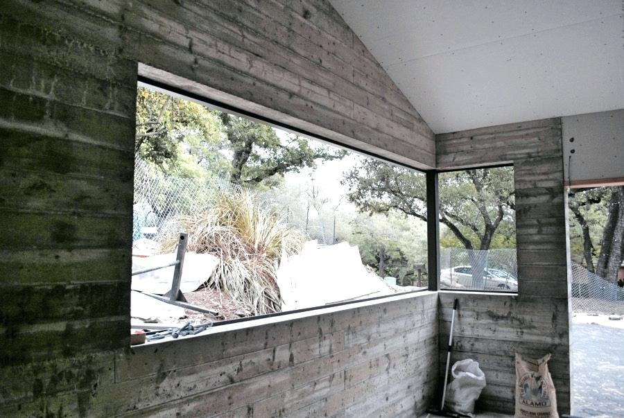 Image of: Concrete Wall Panels Room