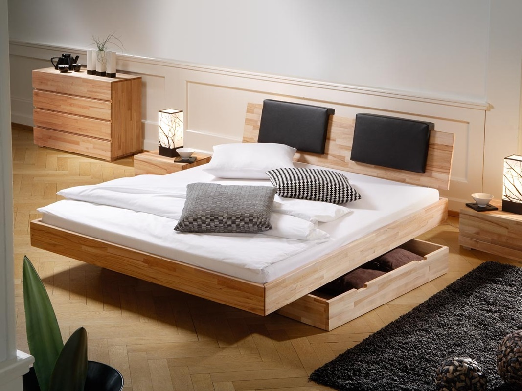 Image of: Contemporary Bed Frame Storage