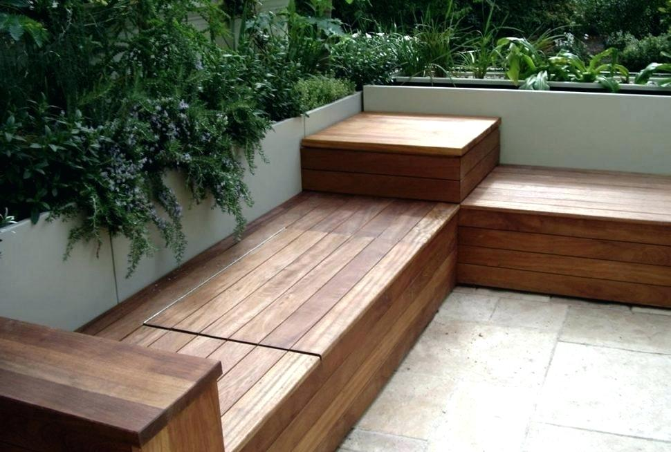 Image of: Cool Deck Storage Ideas