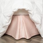 Coral Bed Skirt Print