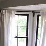 Corner Window Curtain Rod Interior