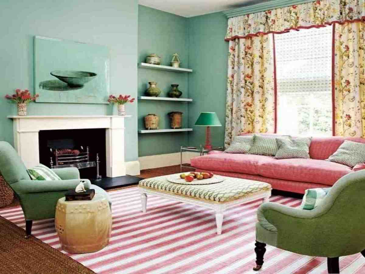 Image of: Country Living Room Ideas Small
