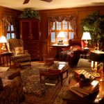 Country Living Room Vintage