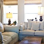 Country Living Room White