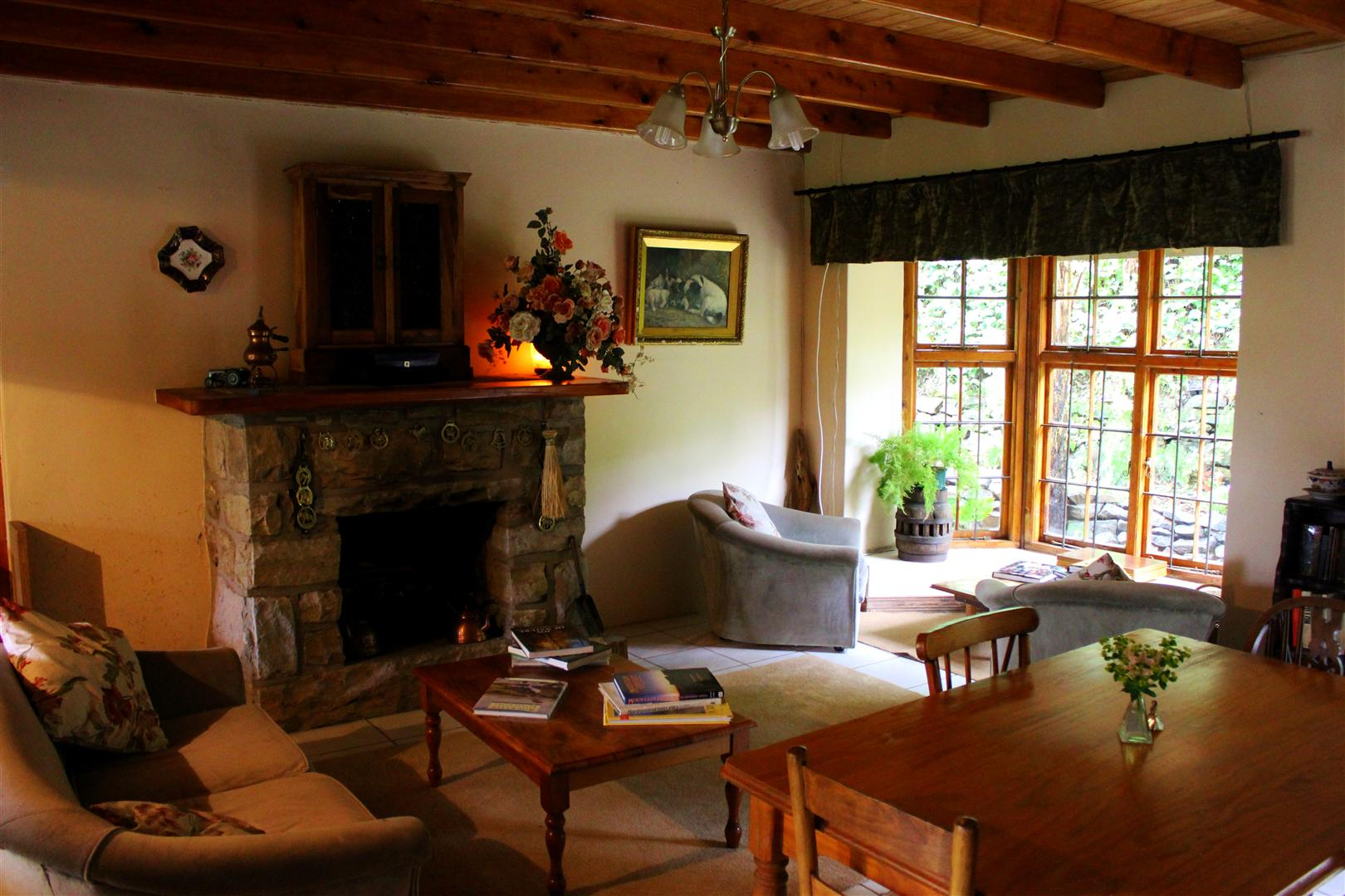 Country Living Room Wooden