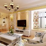 Country Style Living Room Elegant