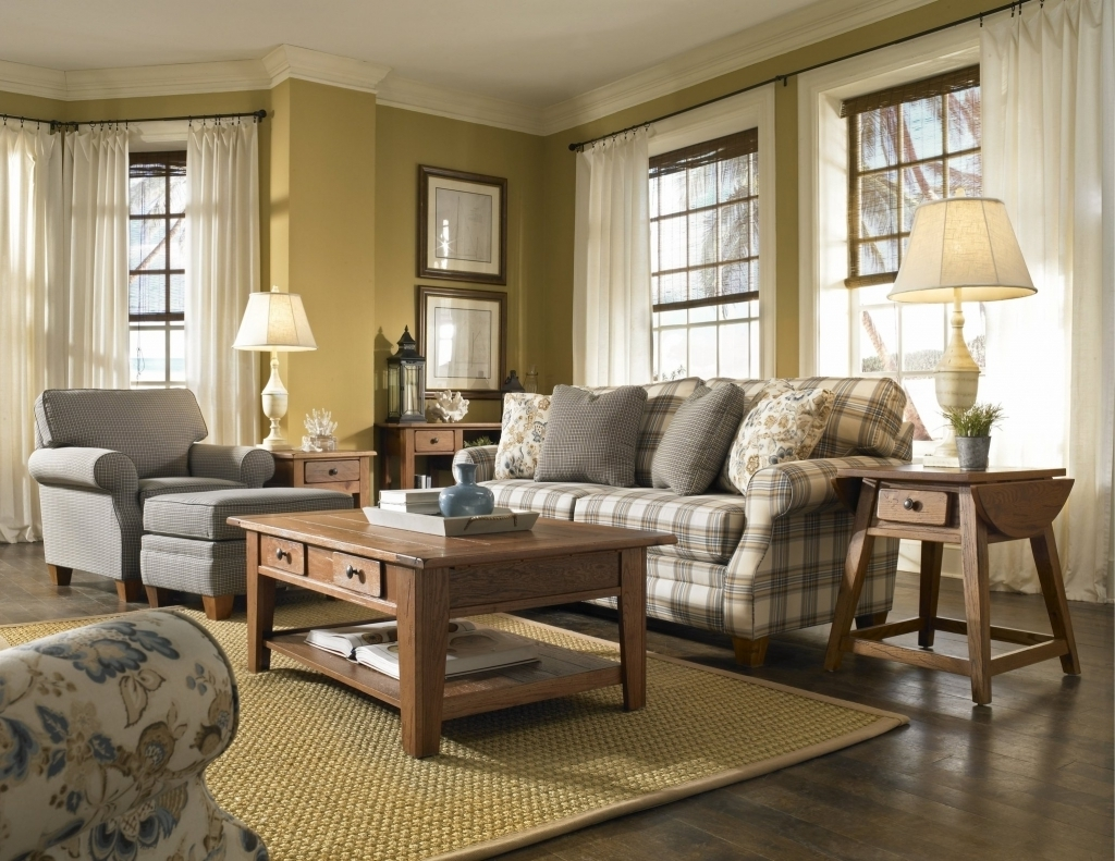 Image of: Country Style Living Room Wonderful