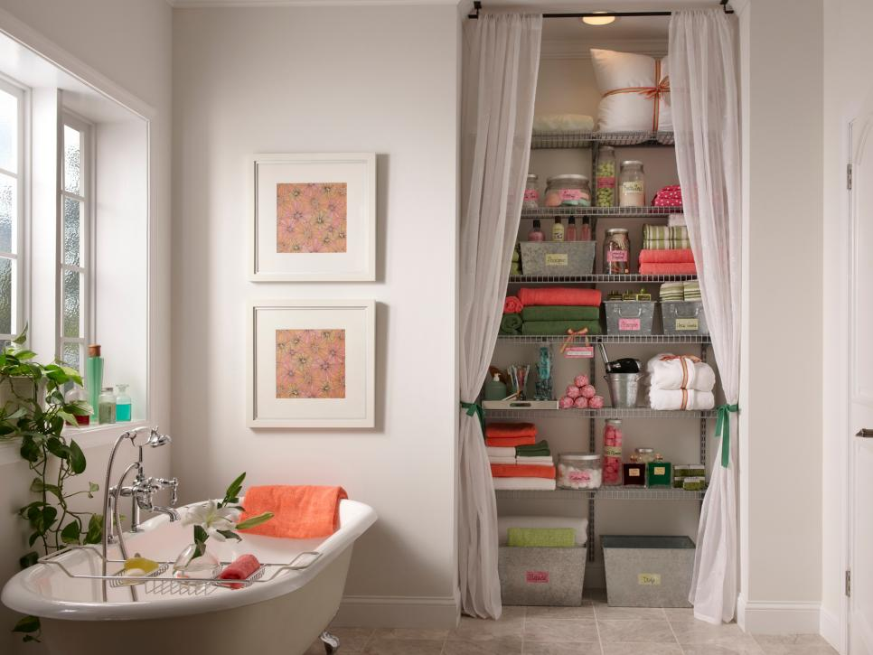 Creative Storage Ideas Bath