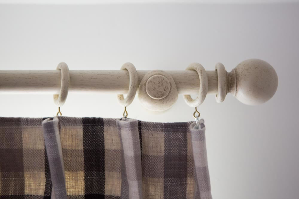 Image of: Curtain Accessories Wooden