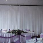 Curtain Backdrop Wedding