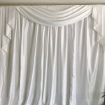 Curtain Backdrop White