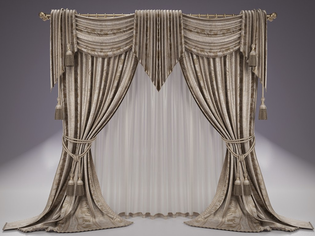 Image of: Curtain Designs Classic