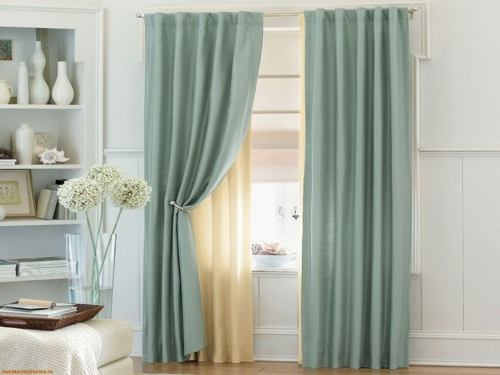 Image of: Curtain Designs Cool
