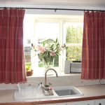 Curtain Designs Red