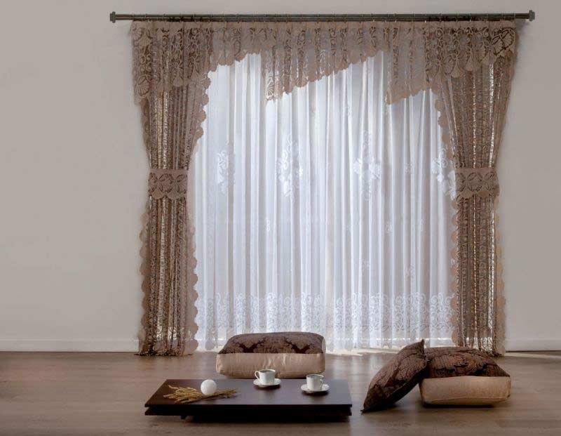 Image of: Curtain Designs Simple