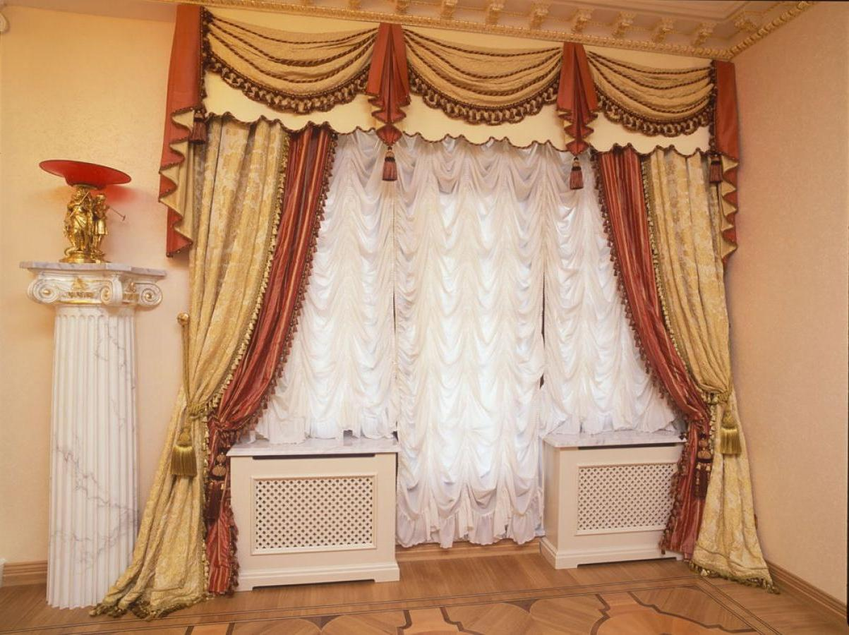 Image of: Curtain Designs Yellow