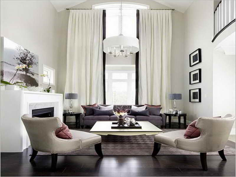 Image of: Curtain Ideas For Living Room Creative