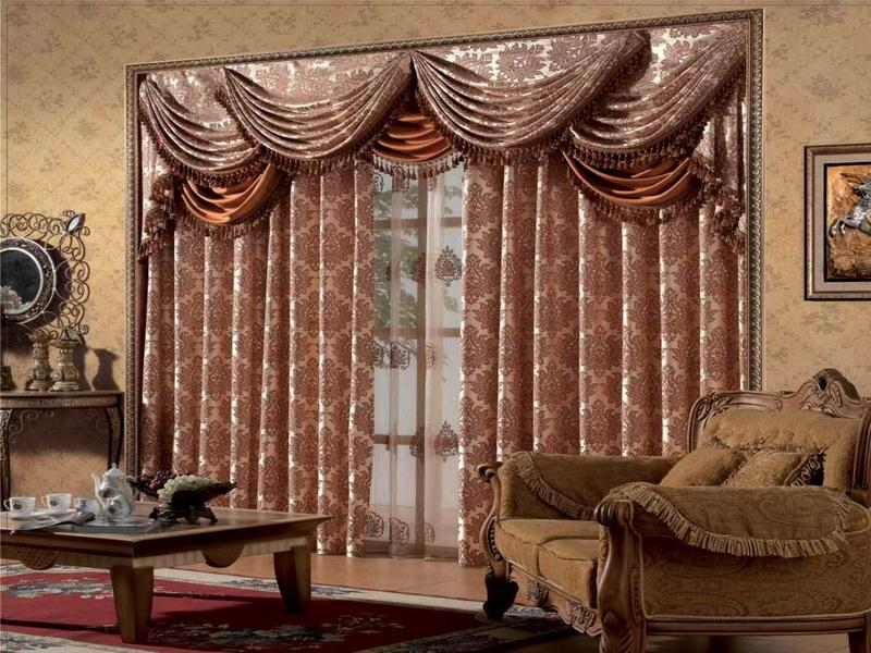 Image of: Curtain Ideas For Living Room Interior
