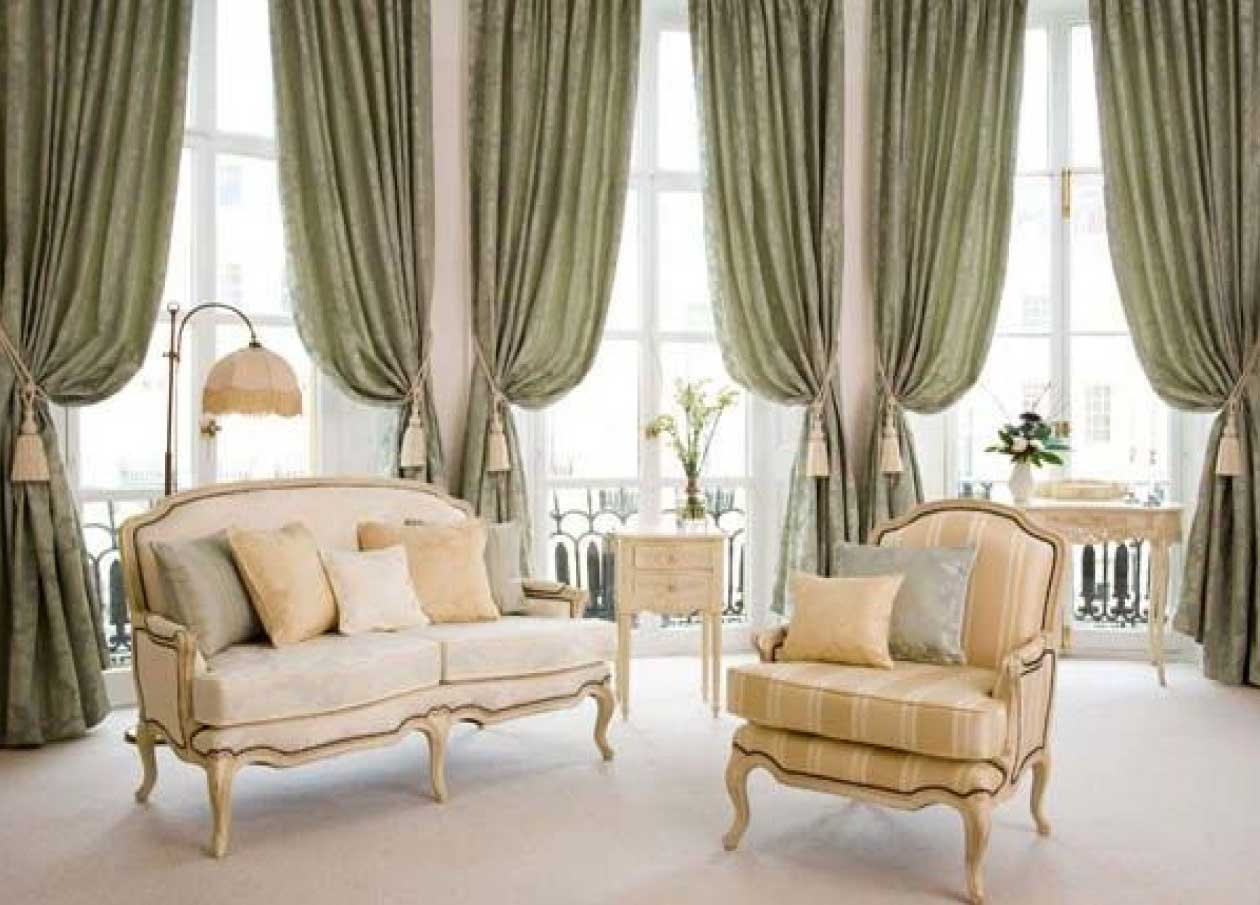 Image of: Curtain Ideas For Living Room Style