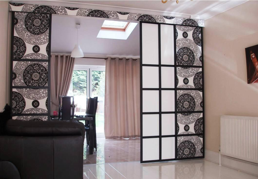 Image of: Curtain Room Divider Awesome