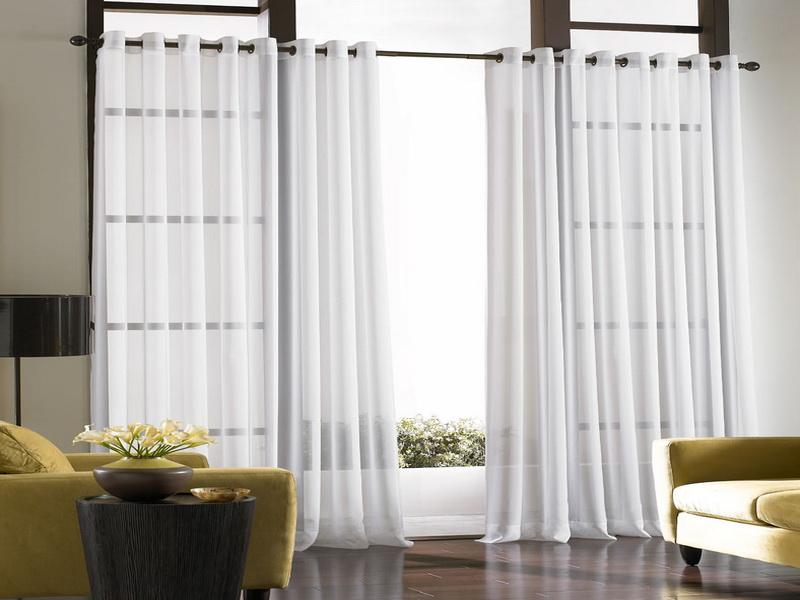 Image of: Curtain Room Divider Beauty
