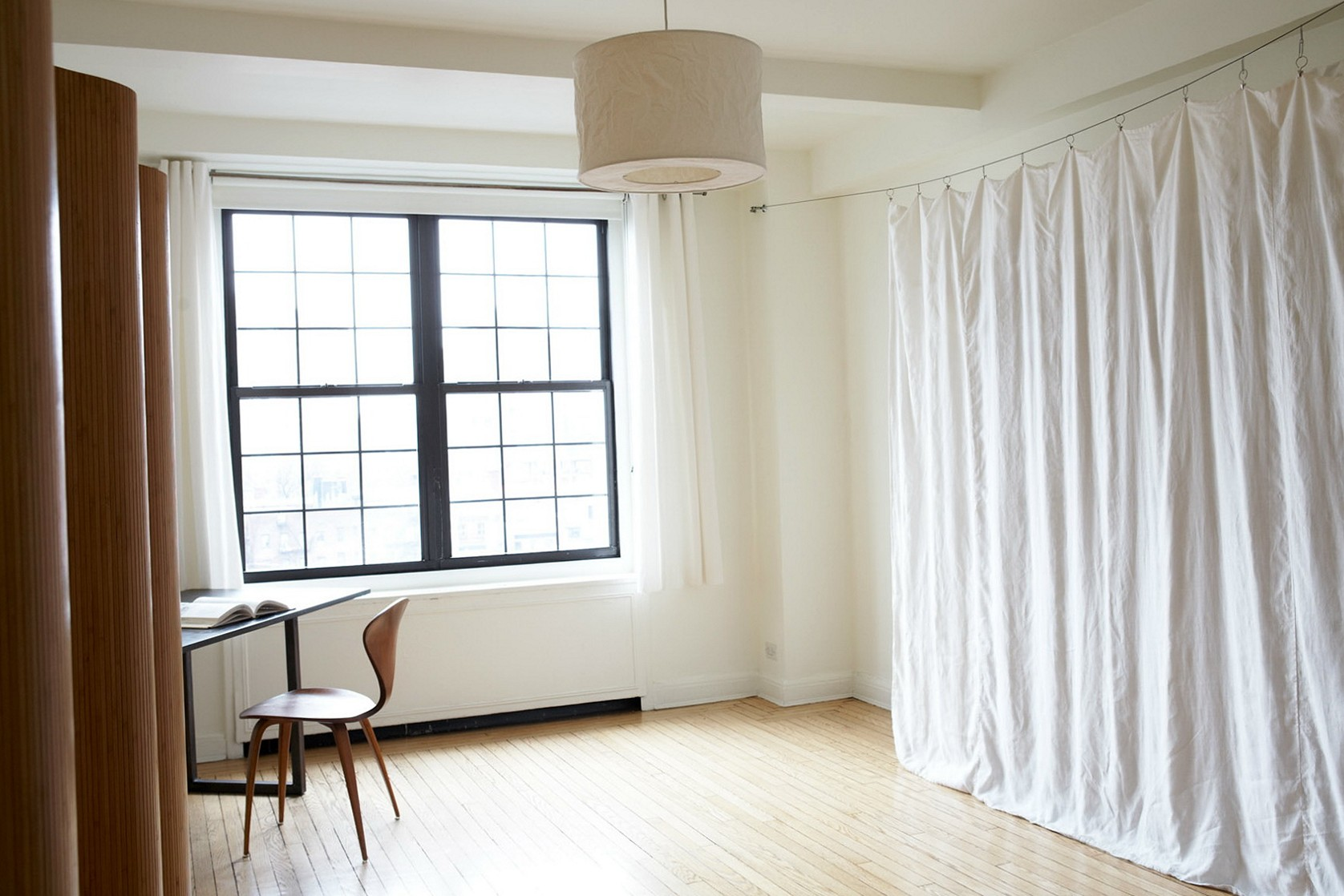 Image of: Curtain Room Divider Cheap