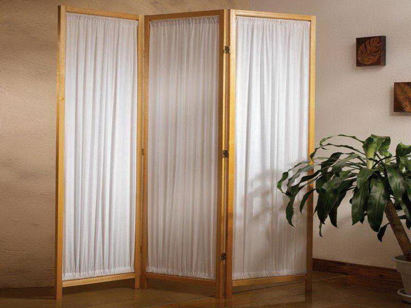 Image of: Curtain Room Divider Creative