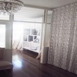 Curtain Room Divider Modern