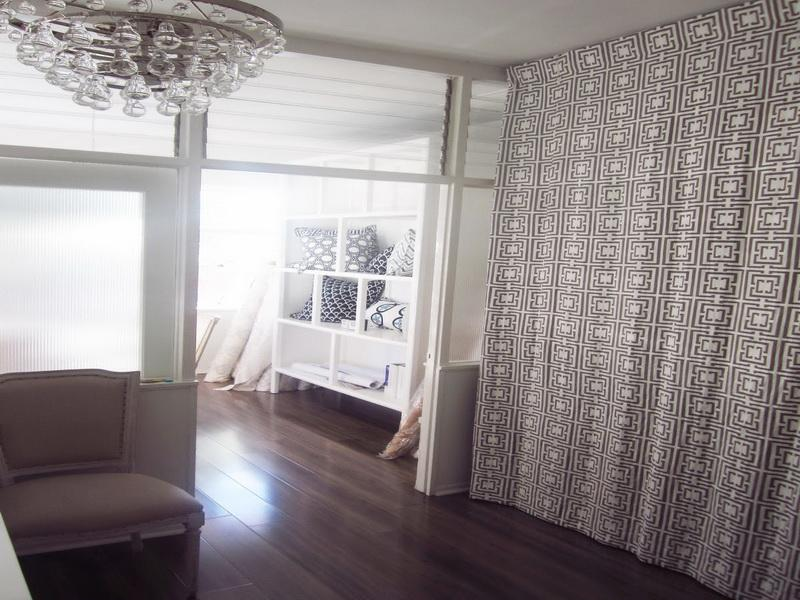 Image of: Curtain Room Divider Modern