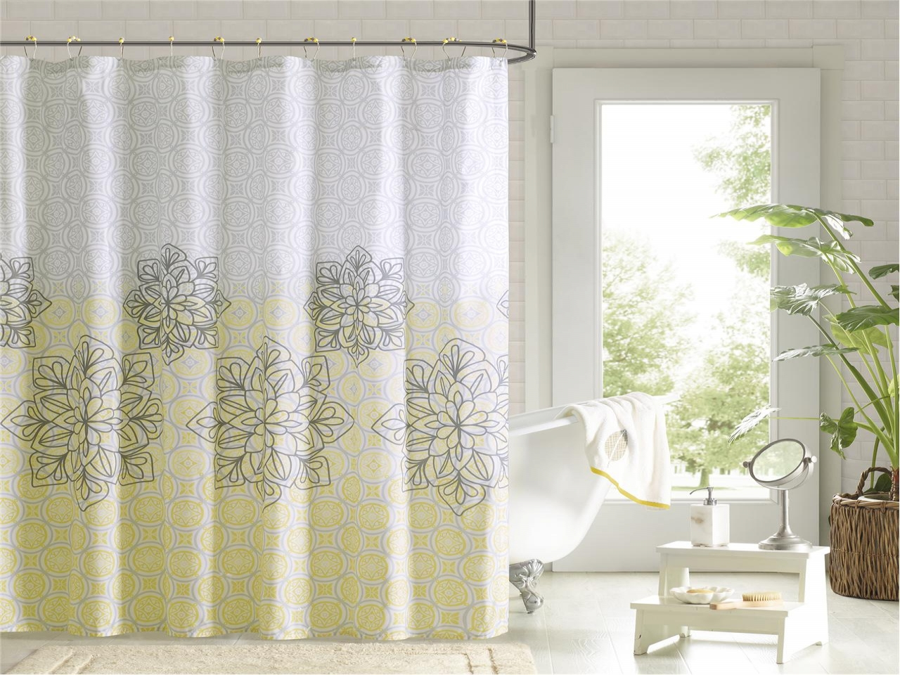 Image of: Curtain Set Double