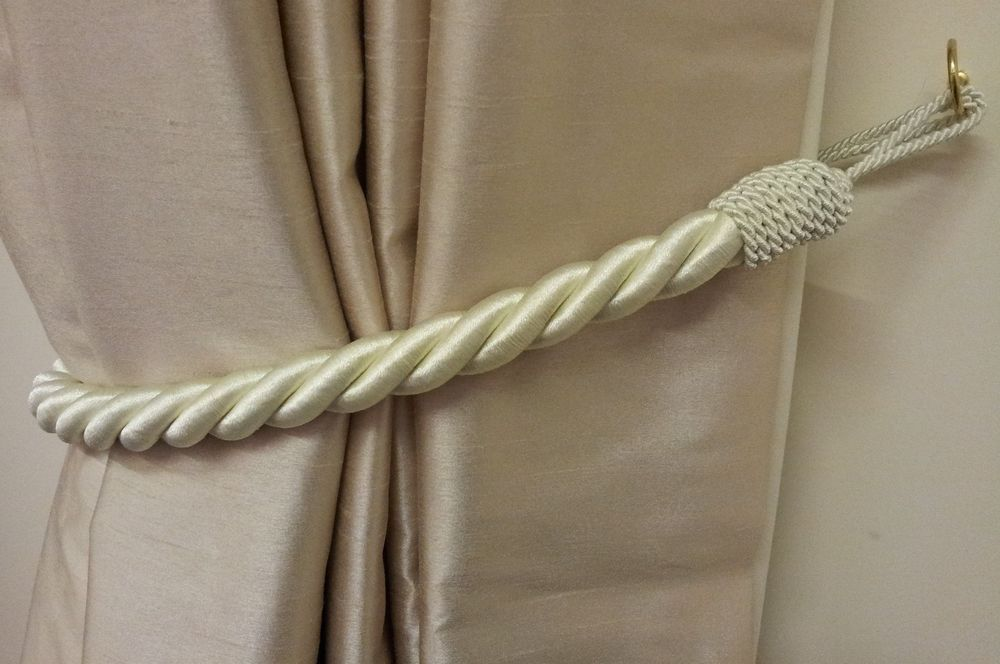 Image of: Curtain Tiebacks Awesome