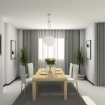 Curtains Living Room White