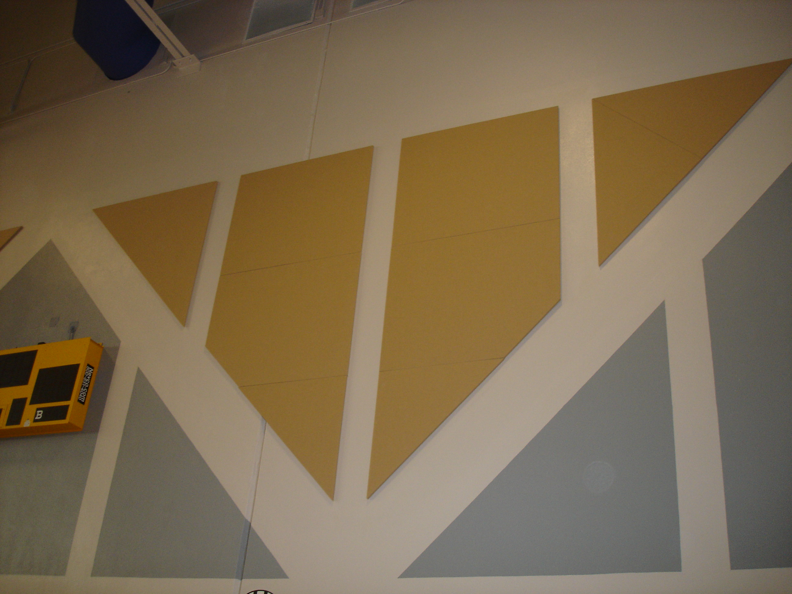 Image of: Custom Soundproof wall panels