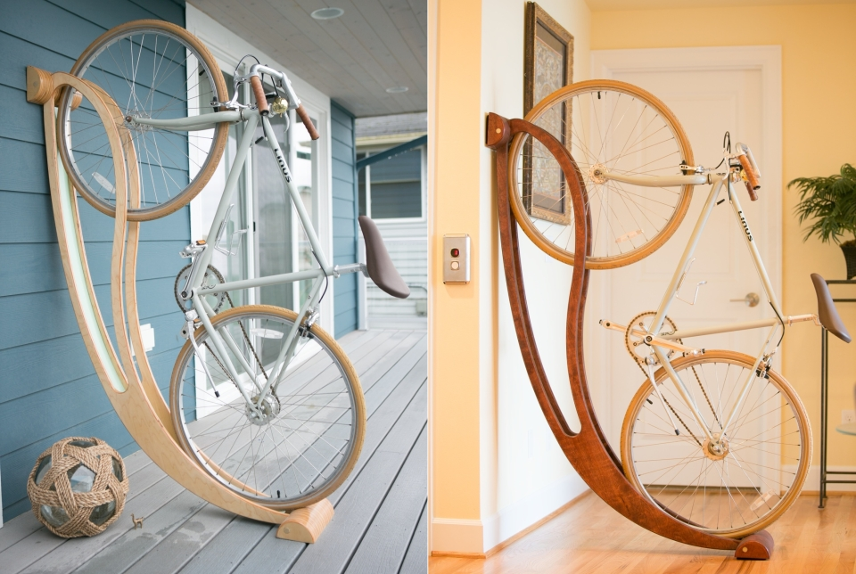 Image of: Cute Bike Storage Ideas