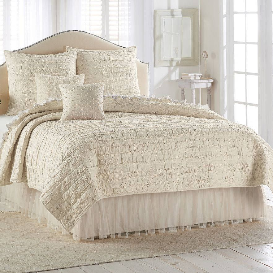 Image of: Cute Tulle Bed Skirt