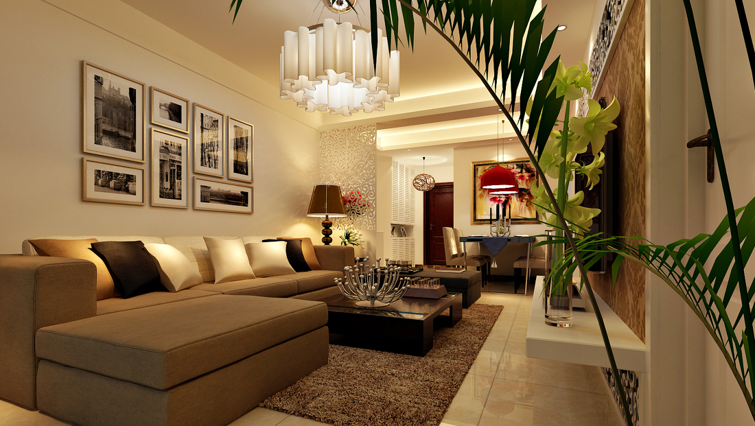 Image of: Decorating Small Living Room Modern