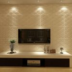 Decorative Modern Wall Panels with Light