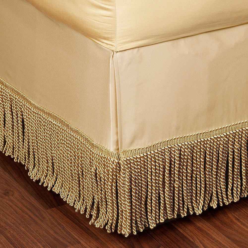Image of: Design Tailored Bed Skirt