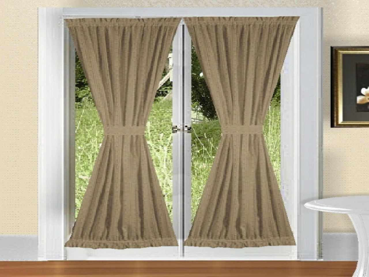 Door Curtain Panel Ideas