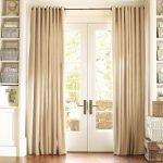 Door Curtain Panel Simple