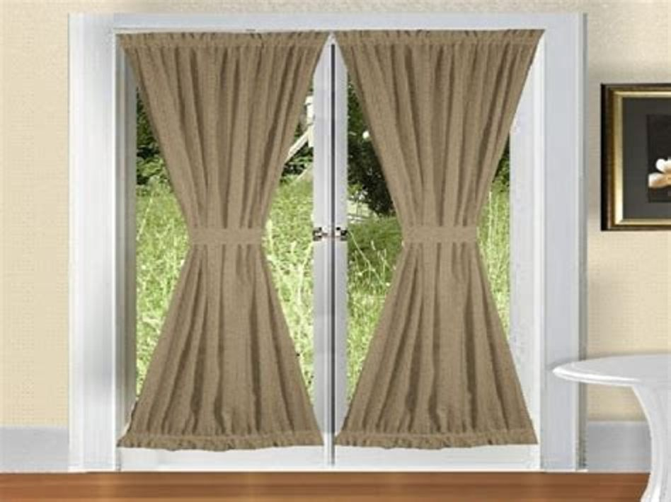 Image of: Door Curtain Panel Small