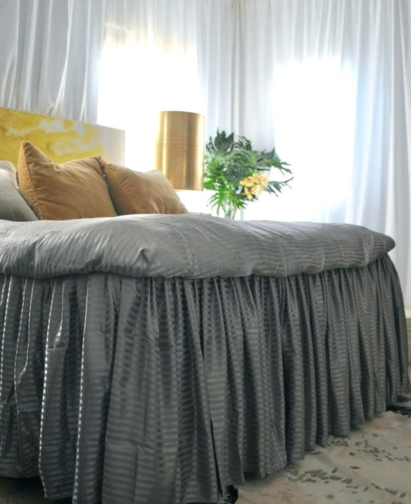 Image of: Elegant Bed Skirt Alternatives