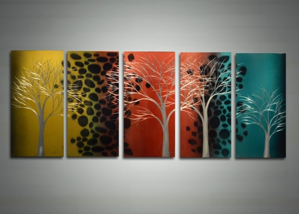 Image of: Famous Metal Wall Art Panels