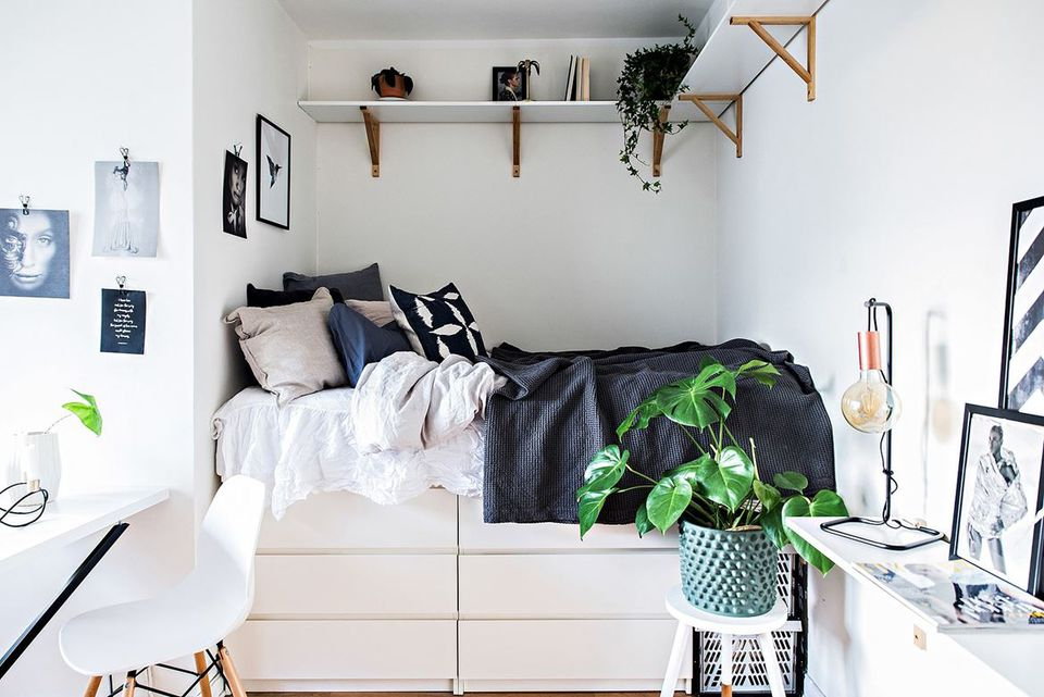 Image of: Famous Small Bedroom Storage Ideas