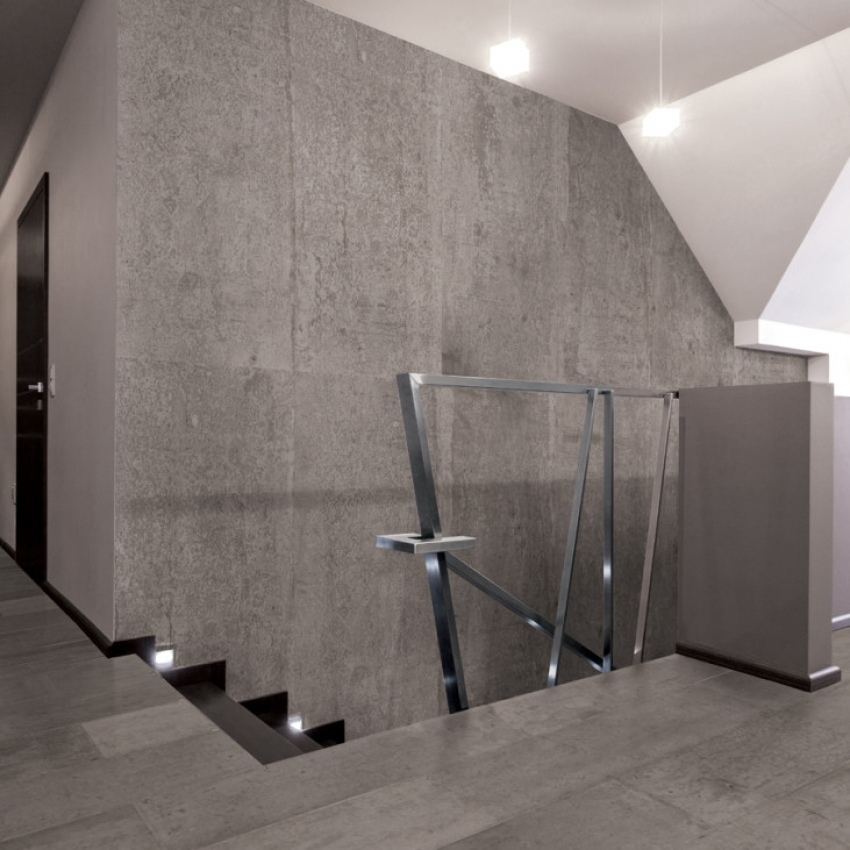 Image of: Faux Concrete Wall Panels