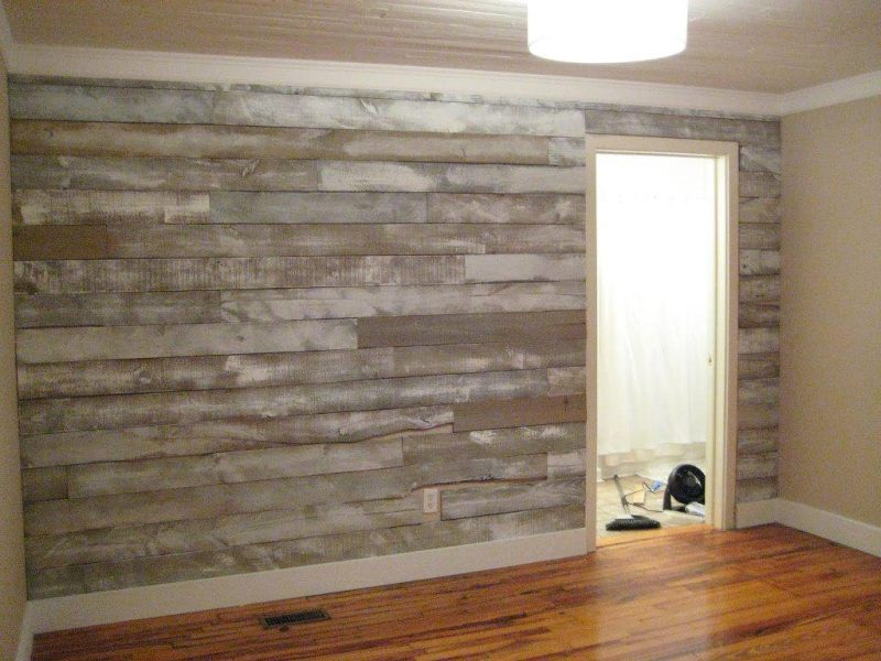 Image of: Faux Wall Panels Model