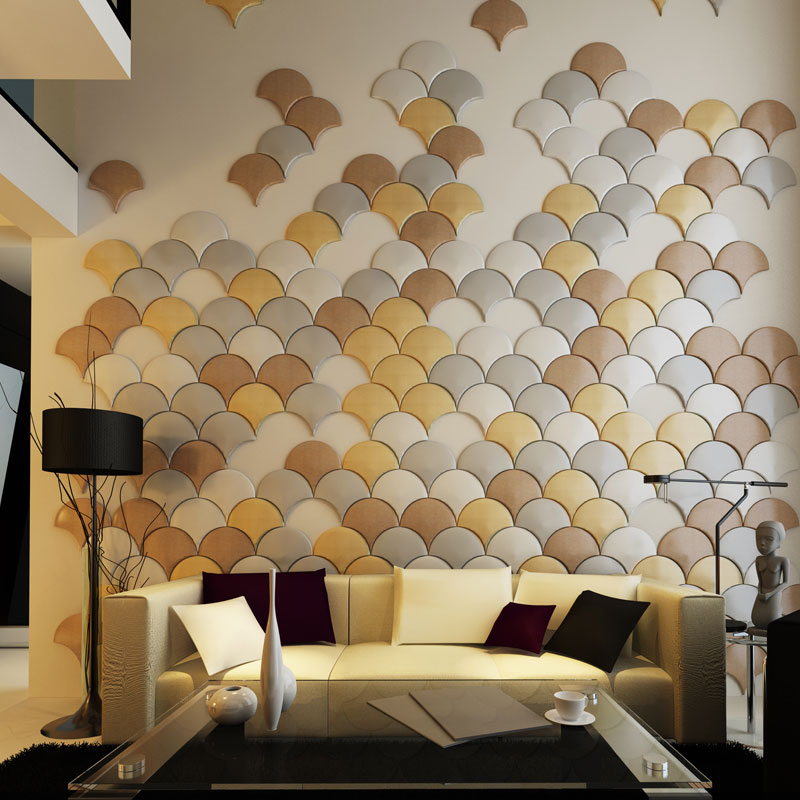 Image of: Faux Wall Panels Room