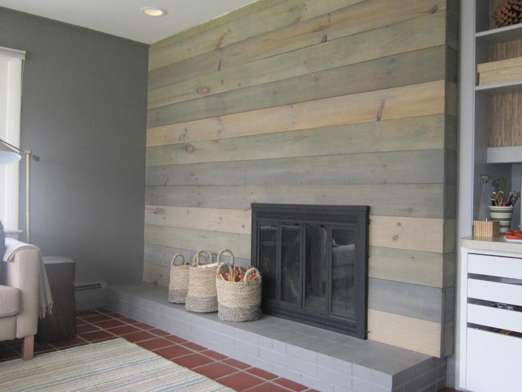 Image of: Faux Wall Panels Wood