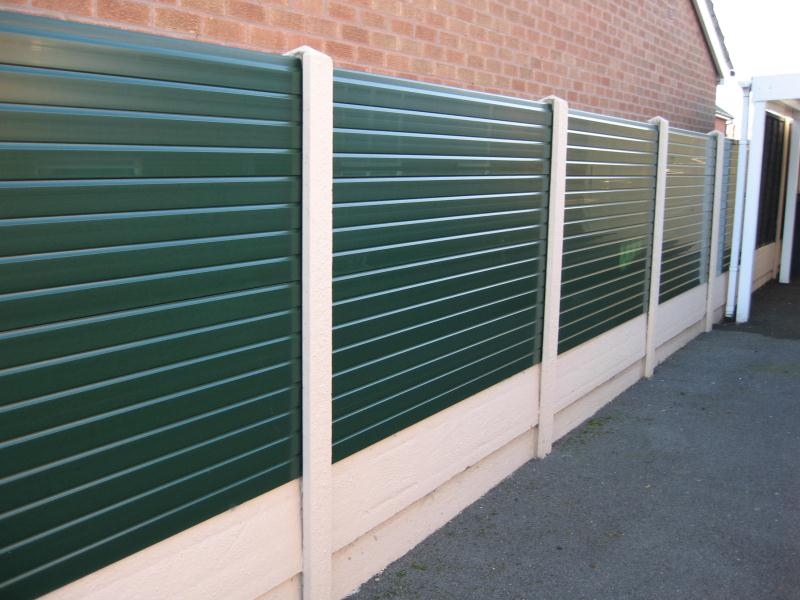 Image of: Fence Plastic Wall Panels