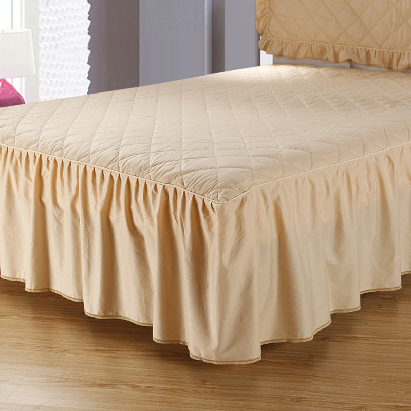 Image of: Fitted Bed Skirt Color